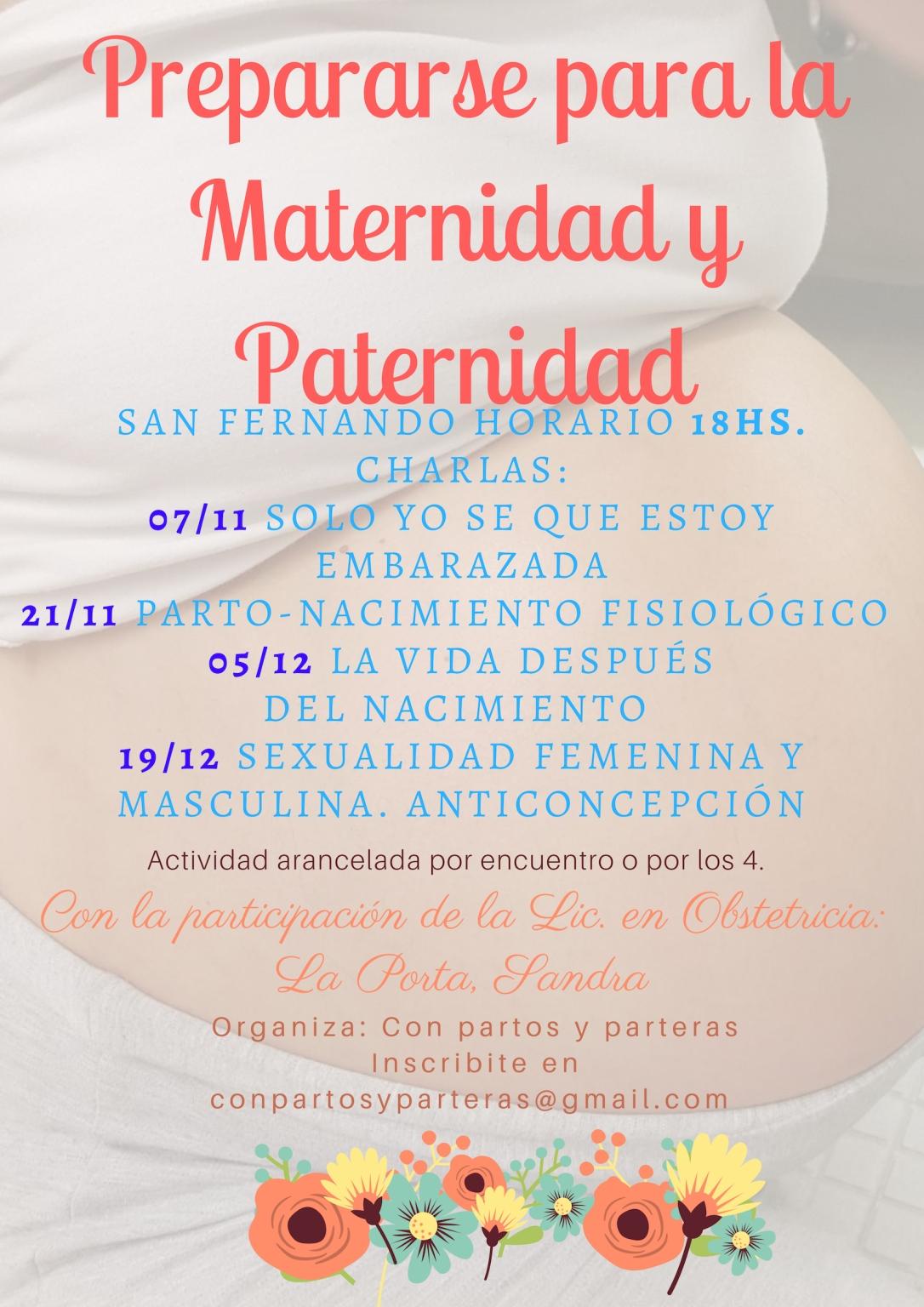 Prepararse para la Maternidad y Paternidad (1)